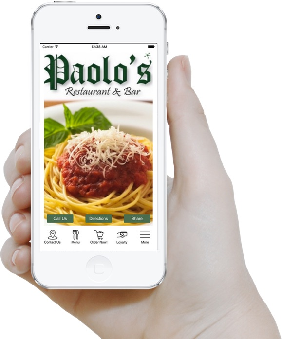 Download the Paolo's App